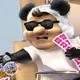 panda show - lo van a despedir por estar mal fajado y desobligado