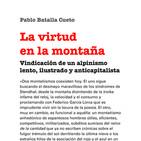 La Nevera Vol.23: La Virtud en la montaña. Vindicación de un alpinismo lento, ilustrado y anticapitalista