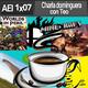 AEI 01x07: Charla Dominguera (ROL, comics, series, actualidad, dinosaurios...) con TEO