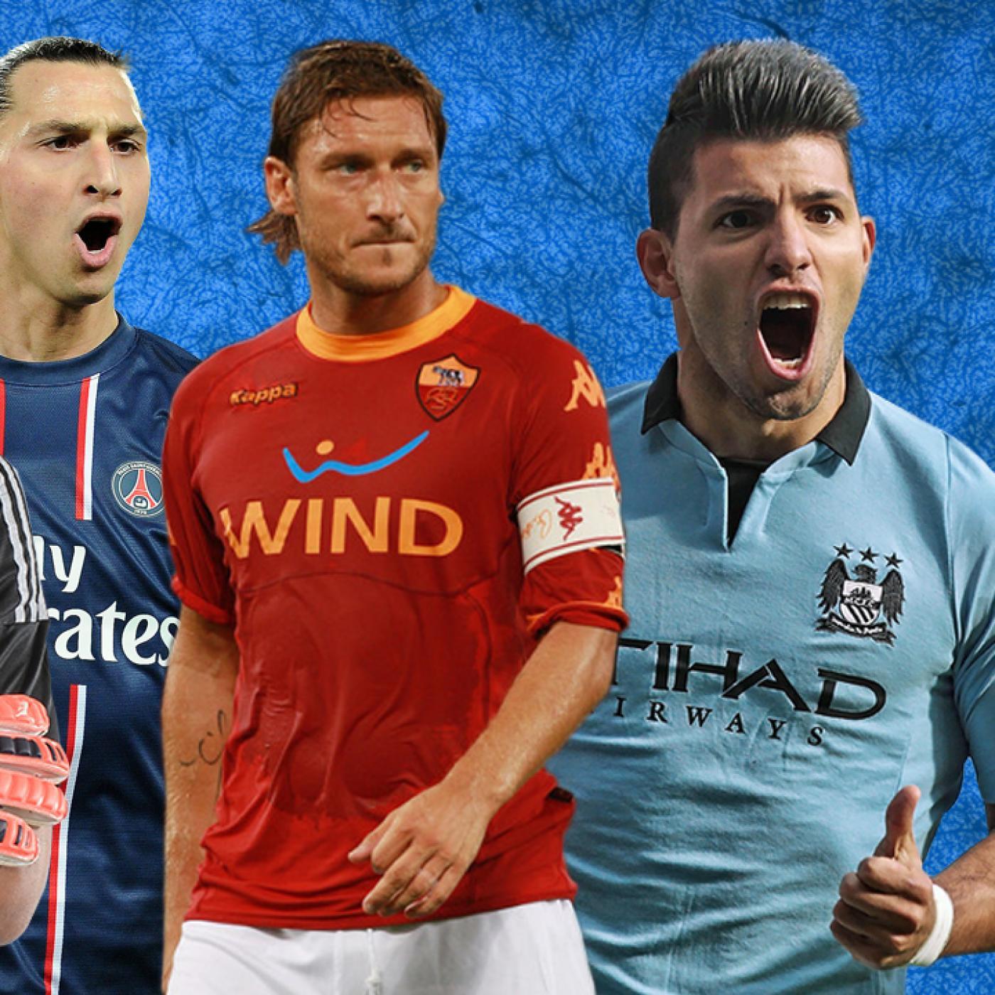 Lista #10 - 4 jogadores que não conquistaram a Champions League