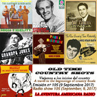 105- Old Time Country Shots (9 Septiembre 2017)