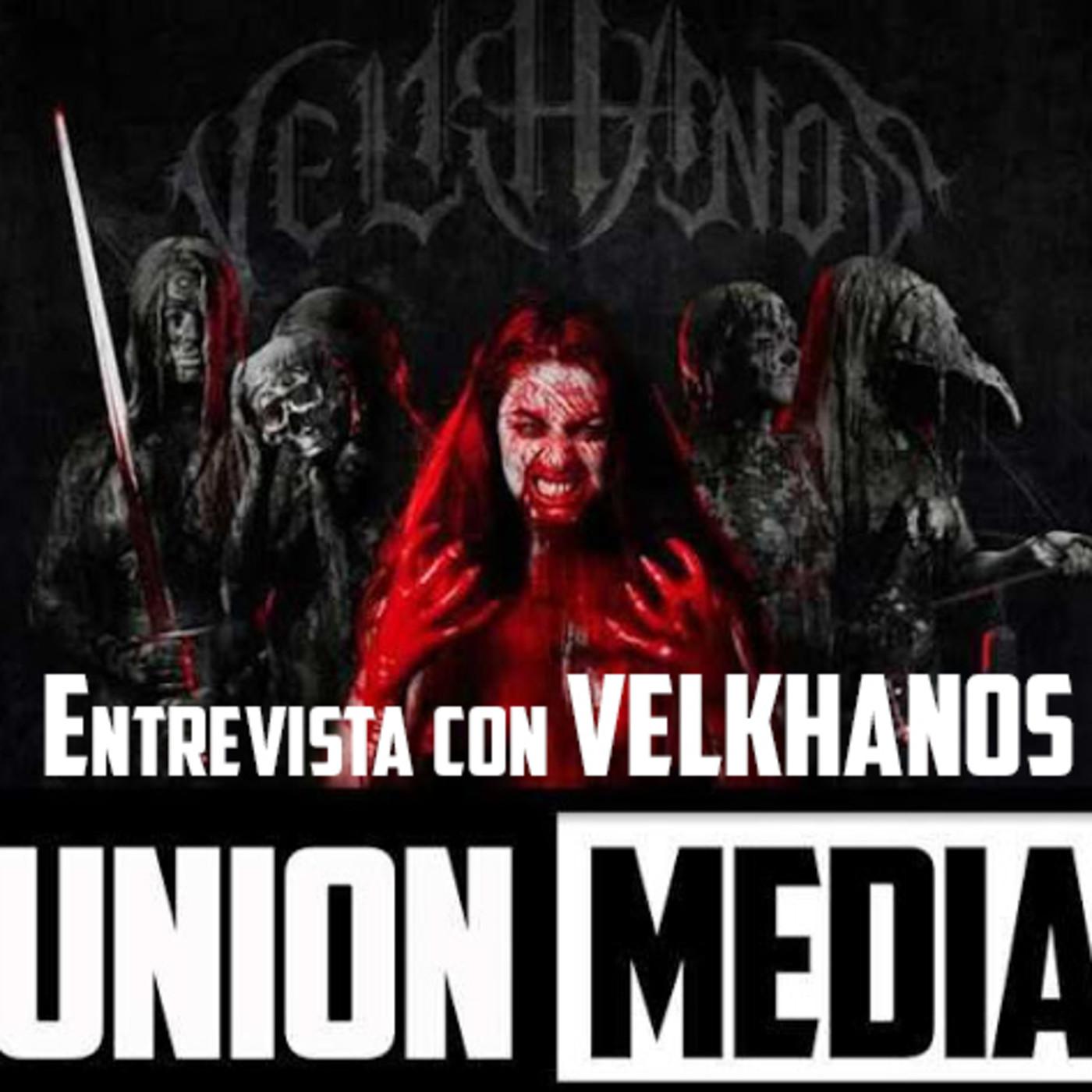Entrevista con VELKHANOS (con su guitarrista Fernando Salmerón)