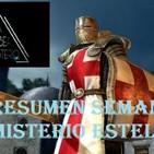 Misterio Estelar: Templarios, Agujeros Ártico, Mary Gutiérrez , Videojuegos Malditos,Terremoto Mortal.