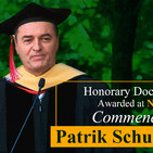 Honorary Doctoral Degree Awarded at November 2019 Commencement to Patrik Schumacher