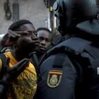 Negros inmigración y violencia en España