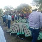 Colapso de Plaza de Toros en Magdalena deja 11 lesionados
