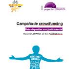 Riding4hope. Campaña de crowdfunding Reto deportivo con justicia social Recorrer 2.500 km en bici #contralatrata