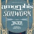 [crónica] AMORPHIS + SOILWOR + JINJER + NAILED TO OBSCURITY - Madrid- 8/02/2019