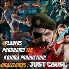 4Players 126 Kojima productions se independiza analizamos Just cause 3