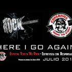 Corsarios - Domingo 1 de Julio 2018 - Especial vuelta We Rock y Graspop