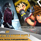 4Players 247 analizamos kingdom hearts 3 y Resident evil 2 Remake