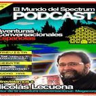 3x05 Nicolás Lekuona - Aventuras conversacionales españolas - 875 pesetas - El Mundo del Spectrum Podcast