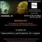 El Cronovisor. Programa 35. Arqueonet 2017.