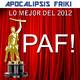 Apocalipsis Friki 020 - I Premios PAF! - Lo Mejor del 2012