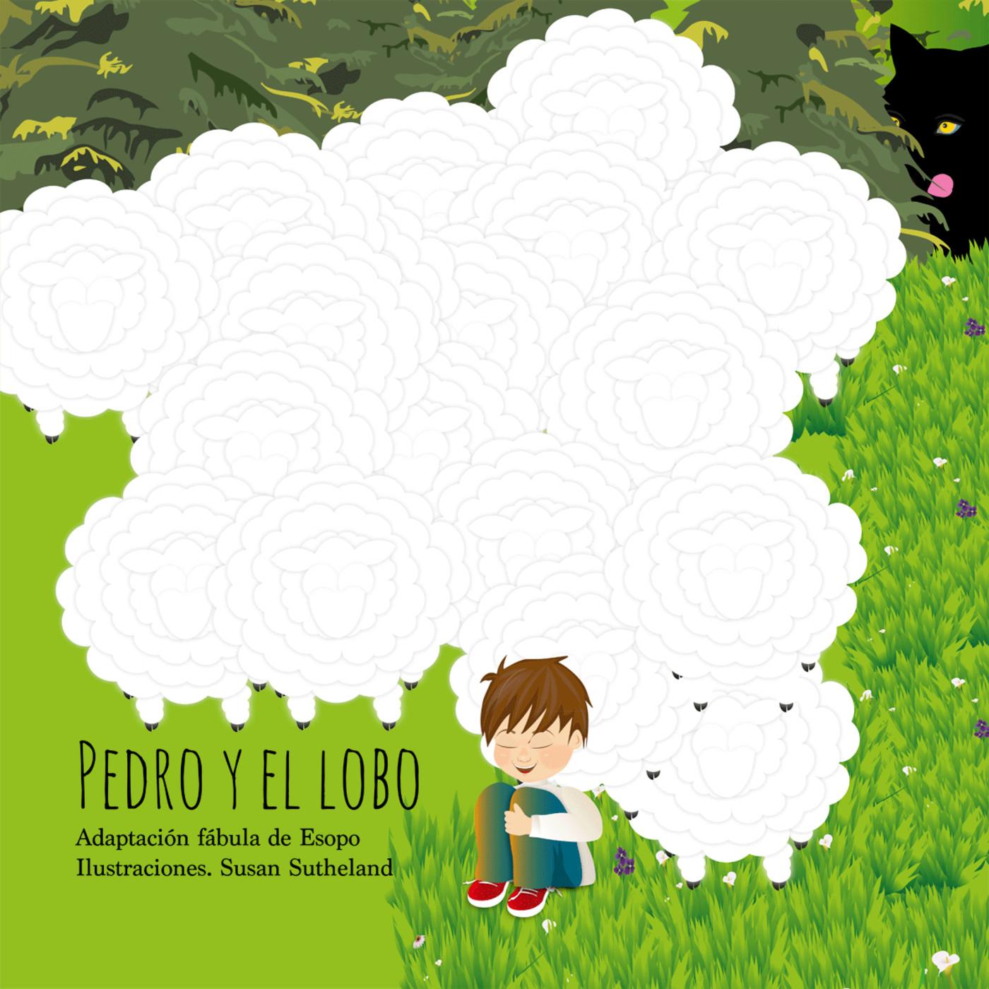 Pedro y el lobo. Adaptación fábula de Esopo
