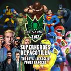 3x02 - Superhéroes de pacotilla: The boys + HeroClix + Power Rangers
