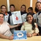 Donaciones de sangre en Zafra y proyecto del COlegio María Inmaculada