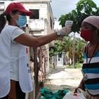 Activistas de la Cruz Roja apoyan labor sanitaria en Diez de Octubre