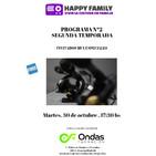 Happy family radio 2º programa 2º temporada desde ondas formaciÓn