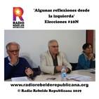 'Algunas reflexiones desde la izquierda' Elecciones #10N