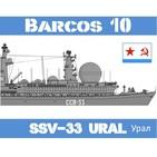 Barcos-10 #43 SSV-33 Ural, la flota estelar soviética - URSS Guerra Fría espía