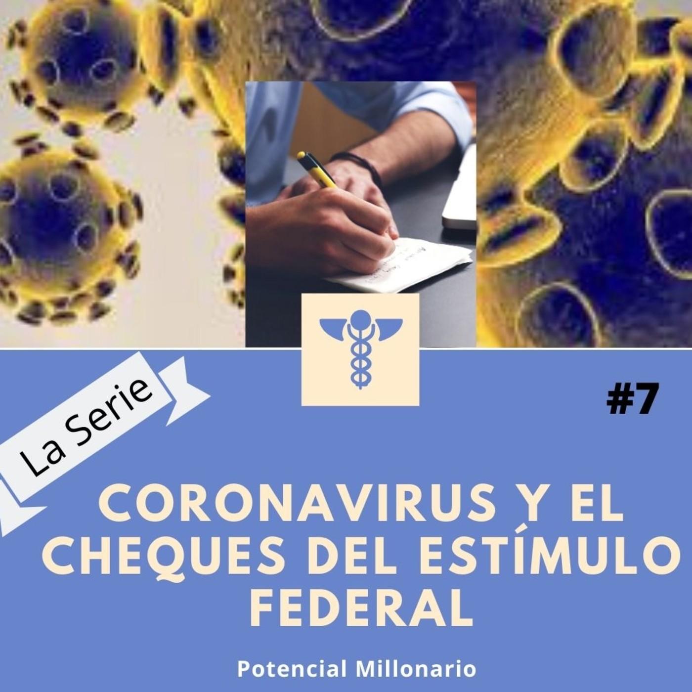 Coronavirus y el cheque del estímulo federal