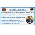 Entrevista número 8 con Ricard Martínez, profesor de la Universidad de Valencia de Derecho Constitucional.