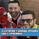 #loscalientes10 | el estÚpido y sensual episodio con el spiderman de metro