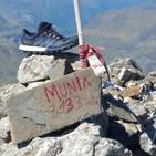 18.- Mochileros en La Munia a 3133m (desde el Valle de Pineta).