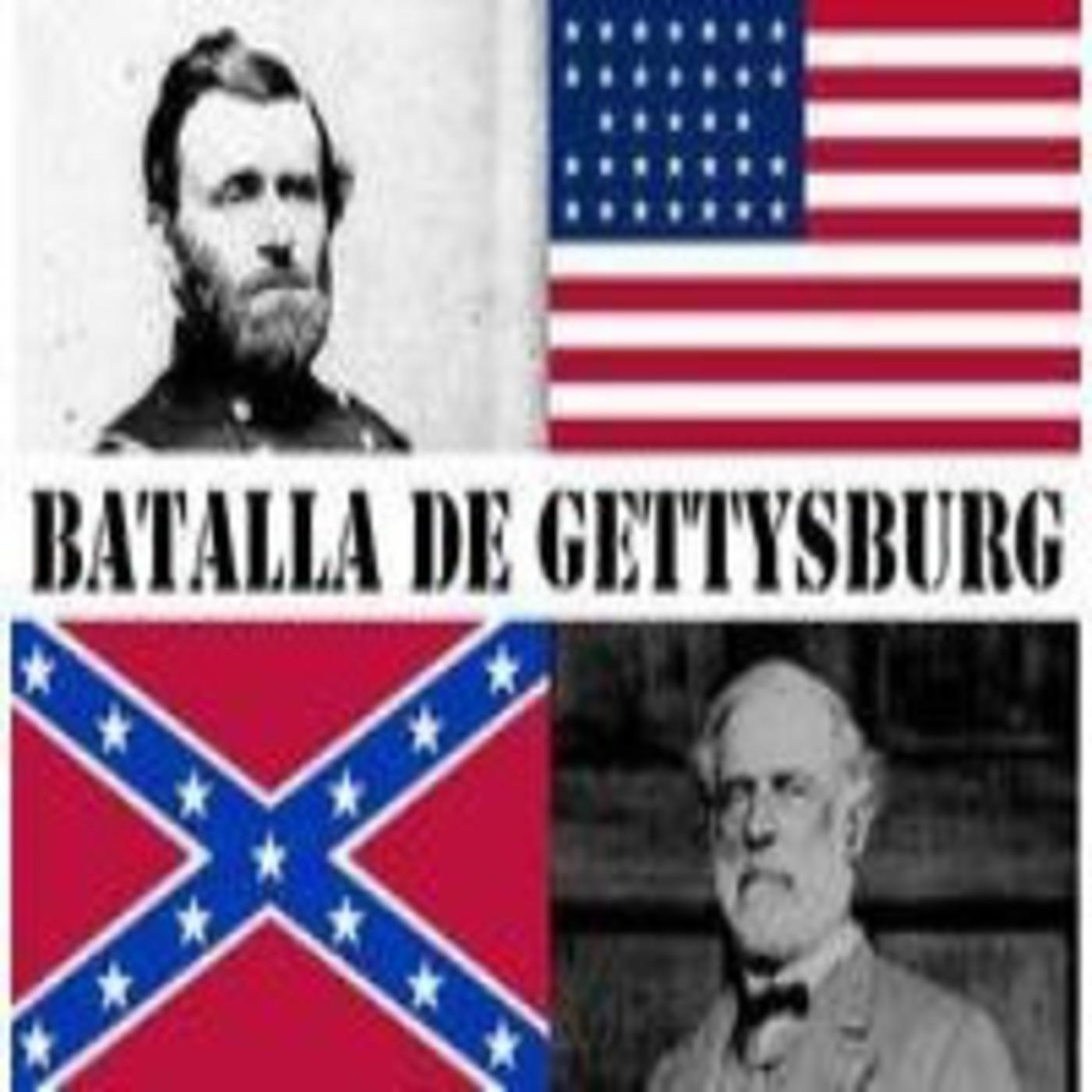 Batalla de Gettysburg. Guerra de secesión de Estados Unidos