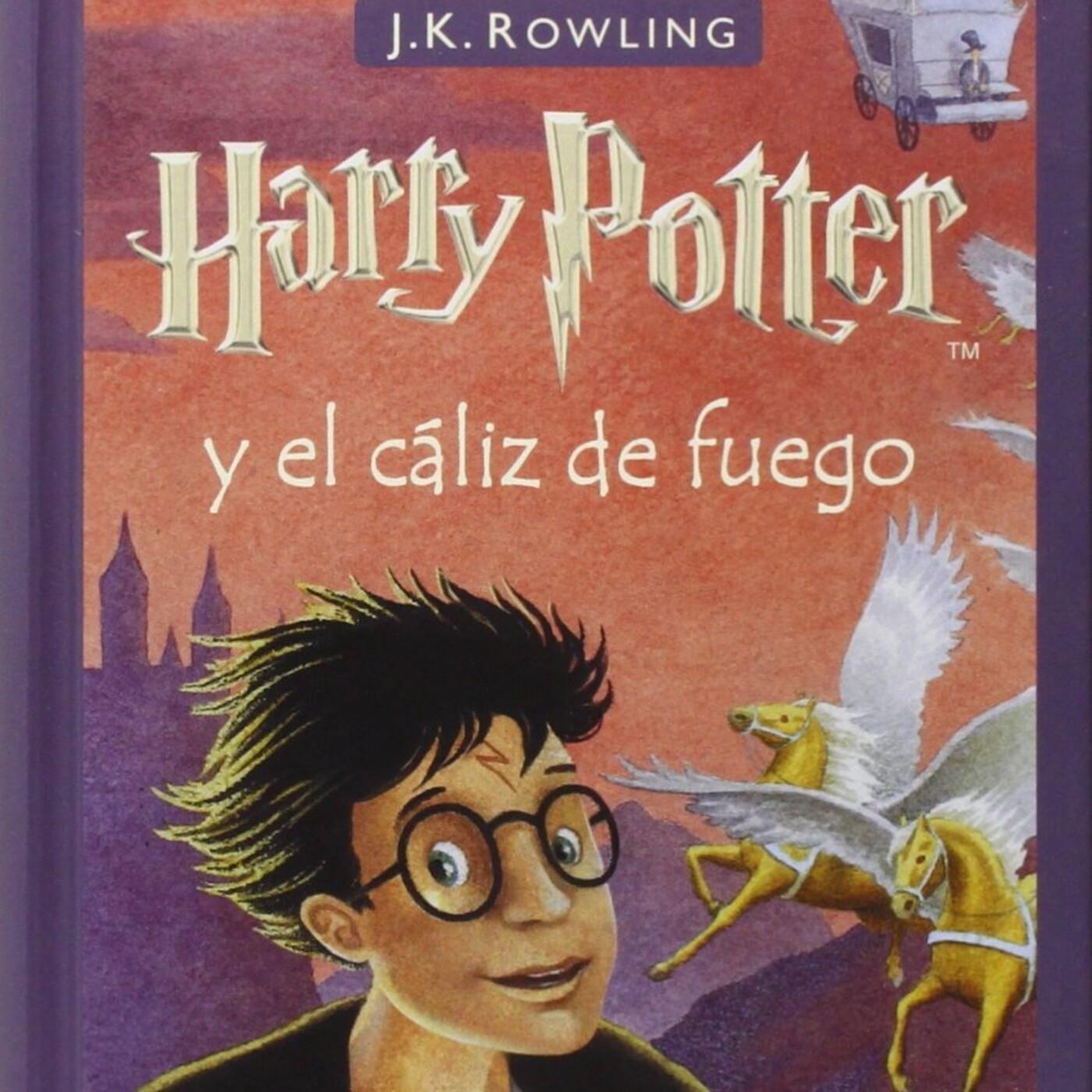 4- Harry Potter y el cáliz de fuego. Cap. 10 - 12