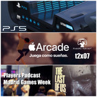 PLAYERS PODCAST t2x07. Es Oficial PS5 y lo contamos todo, Jugamos a Apple Arcade, Estuvimos Madrid Games Week.. y +++