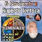 """ELEMENTALES"" Con RUPERTO TORTOSA En Alerta OvNI 2012"