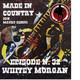 """By Mauro Secchi (MAX) 32° Episode' MADE IN COUNTRY """"WHITEY MORGAN"""""""