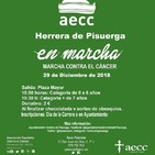 Entrevista Marcha contra el cáncer Herrera de Pisuerga