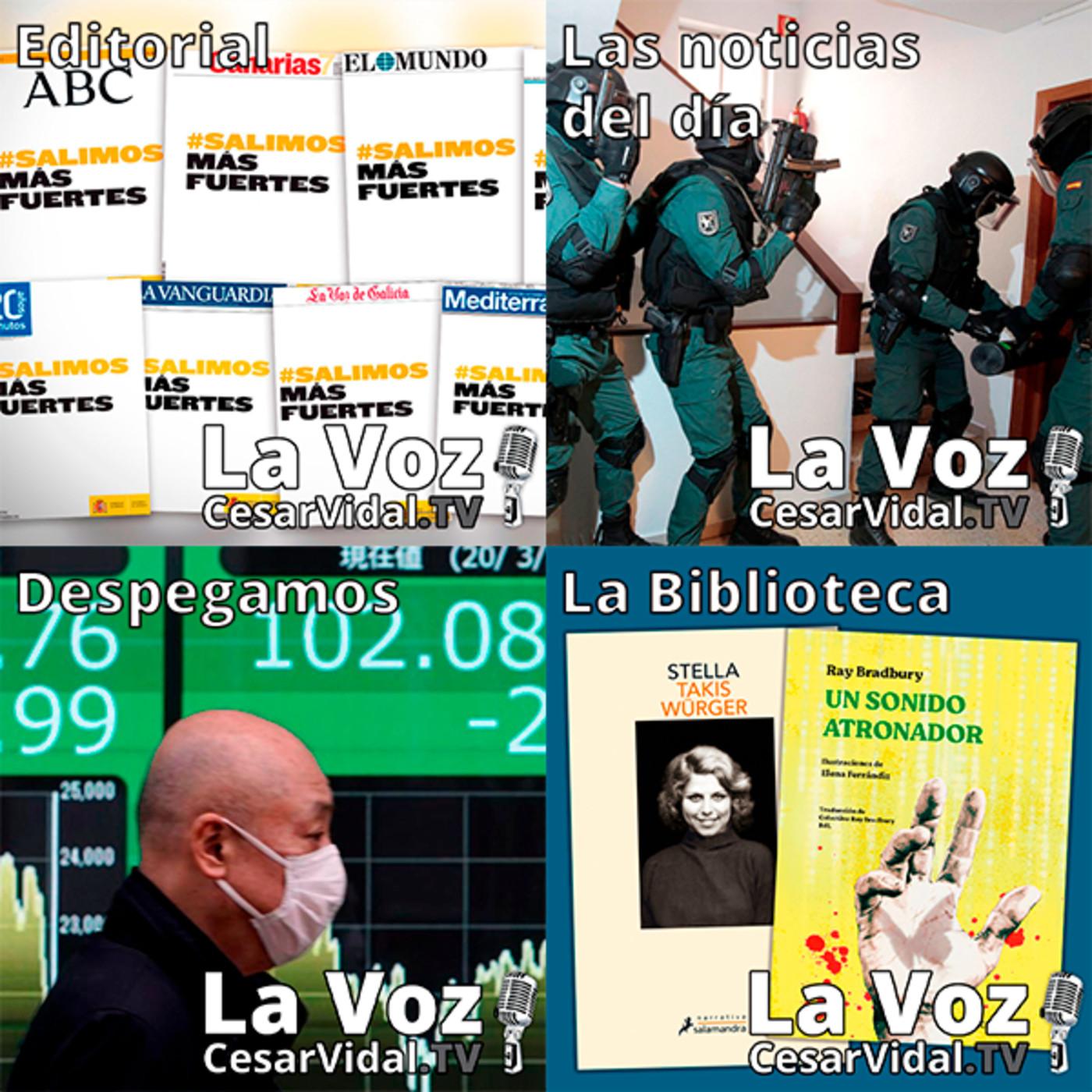 Programa Completo de La Voz de César Vidal - 17/09/20