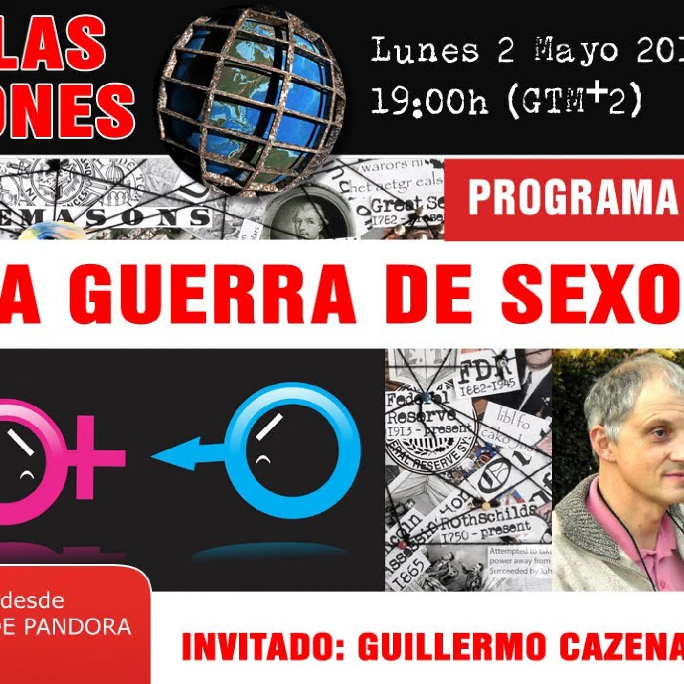 TOP TEN DE LAS CONSPIRACIONES... LA GUERRA DE SEXOS ( Programa 3 )