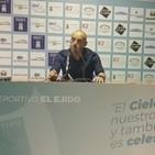 Rueda de Prensa David Cabello CD El Ejido 2-1 Vélez CF