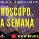 #VIVO - Horóscopo semanal del 04 al de 09 Jun (20 - 2019) - Martes 04 de Junio - 12 M (-5 GMT)