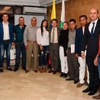 Néstor Zuluaga Alcalde de El Carmen de Víboral - Encuentro con el Gobernador