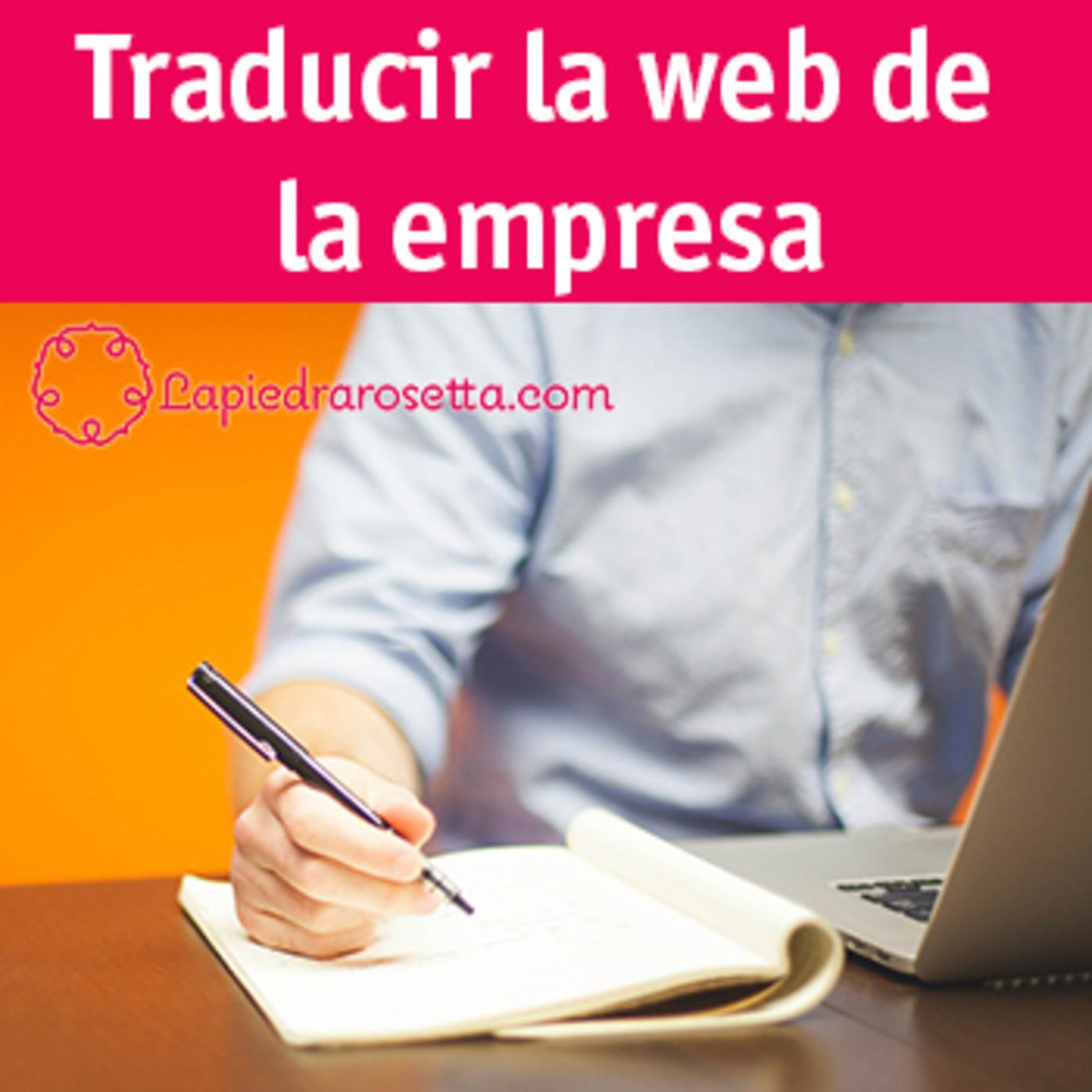Traducir la página web de la empresa