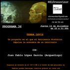 El Cronovisor. Programa 36. Terra Levis. Un proyecto de Patrimonio Histórico para el desarrollo de una comarca.
