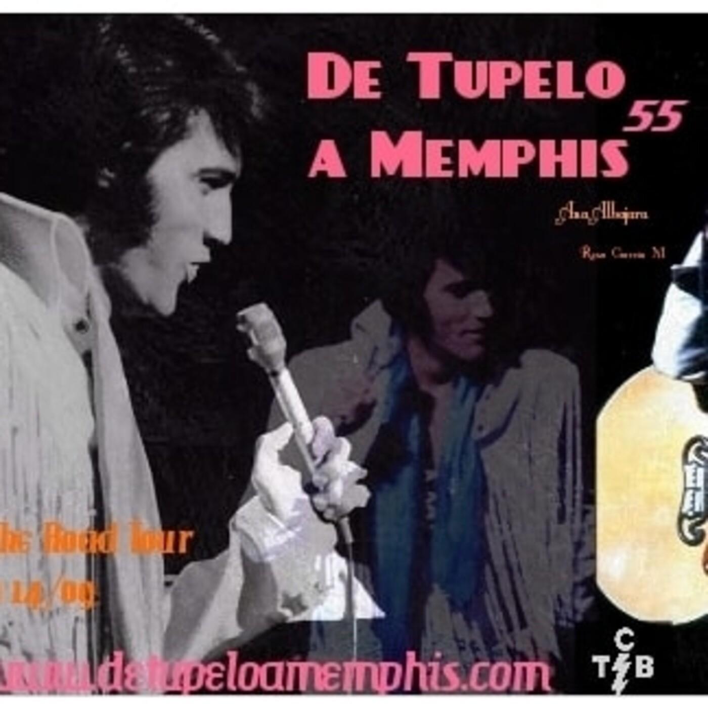 DE TUPELO A MEMPHIS 55. On Tour. Sept 1970