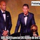 Podcast EQG 2X36 Especial CR7 Balón de Oro 2014