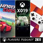 PLAYERS PODCAST 2x11. XBOX Apuesta por los servicios, Sony por los Exclusivos y Stadia empuja con el Streaming