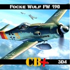 CB+PLUS Focke-Wulf 190 Würger 3/4 Dora-9 Tocando el Cielo