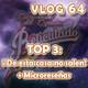 VLOG 64 - TOP 3 De esta casa no salen - Microreseñas