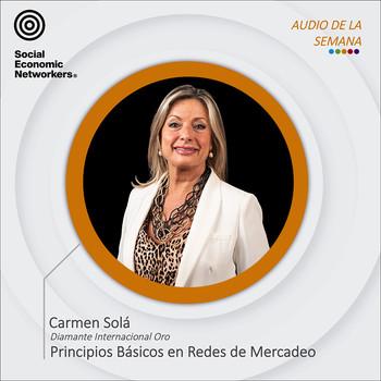 SEMANA 38. PRINCIPIOS BASICOS EN REDES DE MERCADEO. Carmen Solà