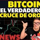 ¿!BITCOIN a punto de SUBIR!? ¡El verdadero CRUCE DE ORO! ¡Noticias! CriptoNews FunOntheRide