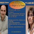Entrevista en el programa de radio 'El desván de la poesía'.